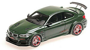 BMW AC Schnitzer ACL2 Coupe 2016 Darkgreen Dark-Green 1:43 Minichamps 437026020