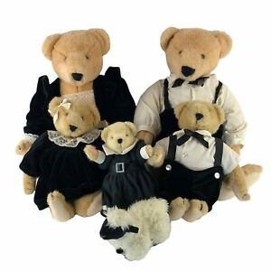 Vanderbear Family Alice Cornelius Fuzzy Fluffy North American Bear Co. Inc