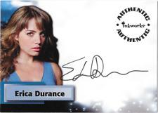 Inkworks Smallville Auto Autograph Card Erica Durance Lois Lane A27 A-27