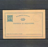 NNBN 643 MOZAMBIQUE OLD MINT CARD STATIONERY PORTUGAL