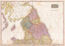 1818 Pinkerton Map of Northern England
