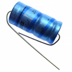 2200uF 25V  Electrolytic  Axial Capacitor PHILIPS