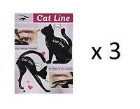 Classic Beauty Cat Lin Eye Makeup Tutorial (3 Pack)