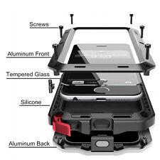 Métal Coques Caisse Résistante Antichoc Hybride d'Armure Téléphone Portable FR