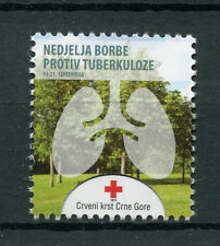 Montenegro 2016 MNH Red Cross Fight Tuberculosis 1v Set Medical Health Stamps