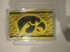 Iowa Hawkeyes Collectible Deck of Playing Cards w Free ship!