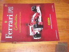 $$$ Fascicule Ferrari F1 Collection N°37 F2004Michael Schumacher2004