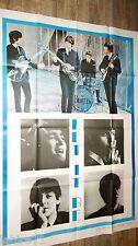 beatles LET IT BE  ! john lennon mccartney  rare affiche cinema comics bd