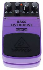 BEHRINGER BOD400 EFFETTO OVERDRIVE A PEDALE PER BASSO