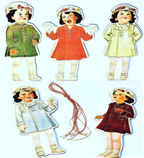 CHRISTMAS ORNAMENT s DIONNE QUINTUPLETS (Pkg of 5) MINT SEALED Rare! Shackman