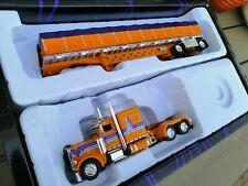 Tonkin 1:53 Trucks n' Stuff #35 Peterbilt 388 FlatTop with Flatbed load New OVP