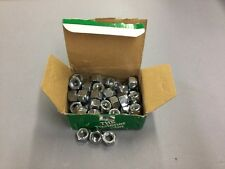 Hillman 1/2-13 Stop Nuts Nylon Insert H# 180159, Box Of 50