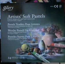 Mungyo Gallery Artists' Soft Pastel Squares Cardboard Box Set of 24