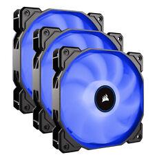 Corsair AF120 Air Series LED 120mm Computer Case Fans - Triple Pack - Blue