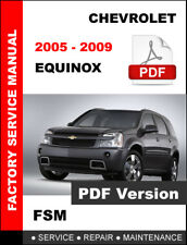 CHEVROLET 2005 - 2009 EQUINOX SERVICE REPAIR WORKSHOP MAINTENANCE FACTORY MANUAL