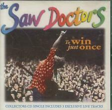 SAW DOCTORS To Win Just Once CD UK Shamtown 1996 4 Track Collectors Edition B/W