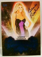 BRANDE RODERICK AUTO AUTOGRAPH BENCH WARMER 2015 HOLLYWOOD PLAYBOY 3/5 RARE