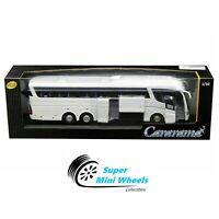 Cararama 1:50 Scania Irizar Pb Coach Bus (White) 57702 W