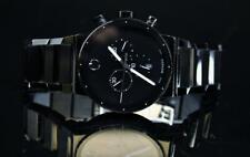 Movado Sapphire Synergy Men's Watch PVD Chronograph Black - 606801