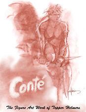 Conte - tome 1 - The Figure Art Work of Topper Helmers  2018  SC Book- WDI