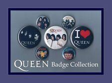Queen - Freddie Mercury Button Badge Collection Set 1 FREEPOST