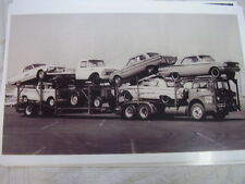 NEW 1963 FORD ON CARRIER T-BIRD FALCON FAIRLANE TRUCKS 11 X 17  PHOTO  PICTURE