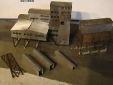 N Scale Building Walthers New River Mine Built Painted Weathered N Scale