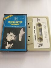 David Bowie Heroes Indonesian Cassette 80s Very Rare