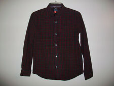 Boys THE CHILDREN'S PLACE Size 10/12 Button Down Long Sleeve Plaid Shirt