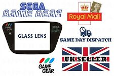 SEGA GAME GEAR REPLACEMENT GLASS SCREEN - GAMEGEAR * High Quality * - NEW