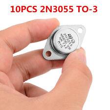 10pcs 2N3055 NPN AF Amp Audio Power Transistor 15A OT9 C + PopSC