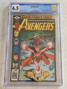 Avengers #186 - CGC 6.5 - Origin of Scarlet Witch - 1st Chthon & Magda!