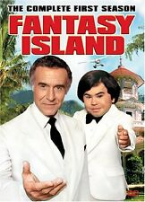 Fantasy Island Complete First Season 1 One DVD Set Series TV Show Episode Drama