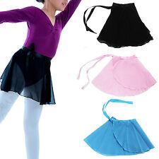 High Candy Colors Kids Girl Ballet Tutu Dance Skirt Skate Wrap Chiffon Scarf