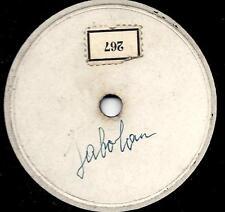 Gerhard Wendland singt Fats Domino 1953 : Jambalaya - Musterplatte