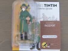 Collection officielle figurine Tintin Moulinsart 76 Basil Bazaroff le marchand