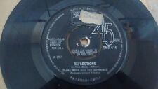 "DIANA ROSS AND THE SUPREMES REFLECTIONS OG UK 1967 TAMLA MOTOWN 7"" 45 TMG 616"