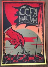 PEARL JAM - Brisbane 2006 Poster by TOD SLATER SIGNED NUMBERED *RAR* CCFA