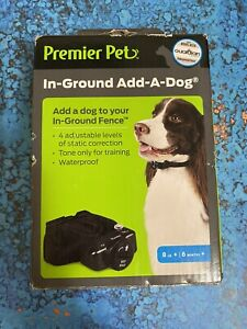 PREMIER PET IN-GROUND ADD-A-DOG GIG00-16920 New OPEN BOX