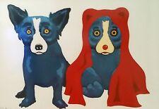 "Blue Dog George Rodrigue    ""Bear With Me""     MAKE  OFFER   BA DSS"