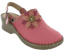 Cushion Walk Clog Sandals Summer Halter Back Adjustable Strap Womens Joy UK 3-8