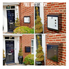 LARGE  PARCEL/MAILlBOX Waterproof  lockable stylish NEVER- MISS PARCELS AGAIN...