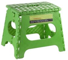 """Strong Foldable Step Stool for Adults/Kids 11"""" Rise Holds 300 lbs Easy Storage"""