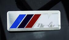Aluminum ///M emblem badge sticker car Accessories for BMW M-Series M3 M4 M5 E36