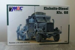 MAC 72047 1/72 Unit Diesel Car 68 Unbuilt Top Boxed