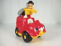Fisher Price Little People Fire Truck with Fireman with Sounds!