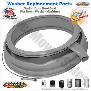 Rubber Washing Machine Door Seal For Bosch Washer / 680768, 1562454, AH3482998