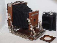 4x5 Deardorff Special view camera. Graflok back. Ex. condition w/film holders.