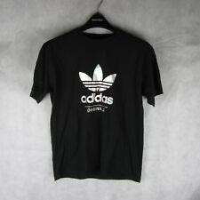 New! Stunning! Adidas Original Black Logo Top Tshirt Size M Casual Fashion