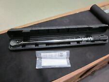 """MATCO TRC250K 1/2"""" DR. 50-250 FT. LBS. TORQUE WRENCH W/ CASE"""